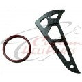 (CHP-KC01) Key Chain Carbon Fiber TREX Fin