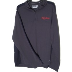 CHP Gray Pullover With Blue Stripe