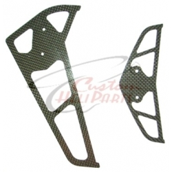 Raptor Carbon Fin Set 30/50