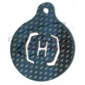 KEY CHAIN CUSTOM HELI PARTS LOGO