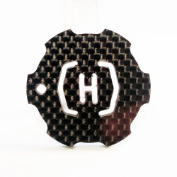 (CHP-KC12) KEY CHAIN CUSTOM HELI PARTS LOGO