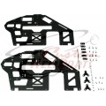 (CHP-T5012) T-Rex 500 CF Frame Set (Hit)